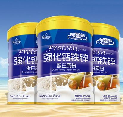 强化钙铁锌-蛋白质粉